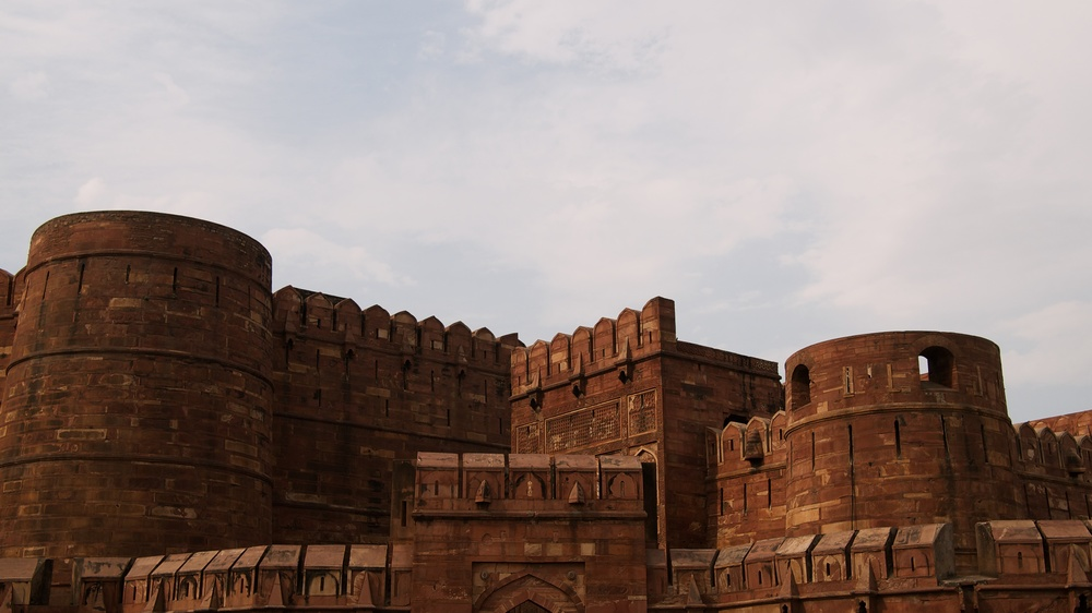 Entrance to the Red Fort in Agra