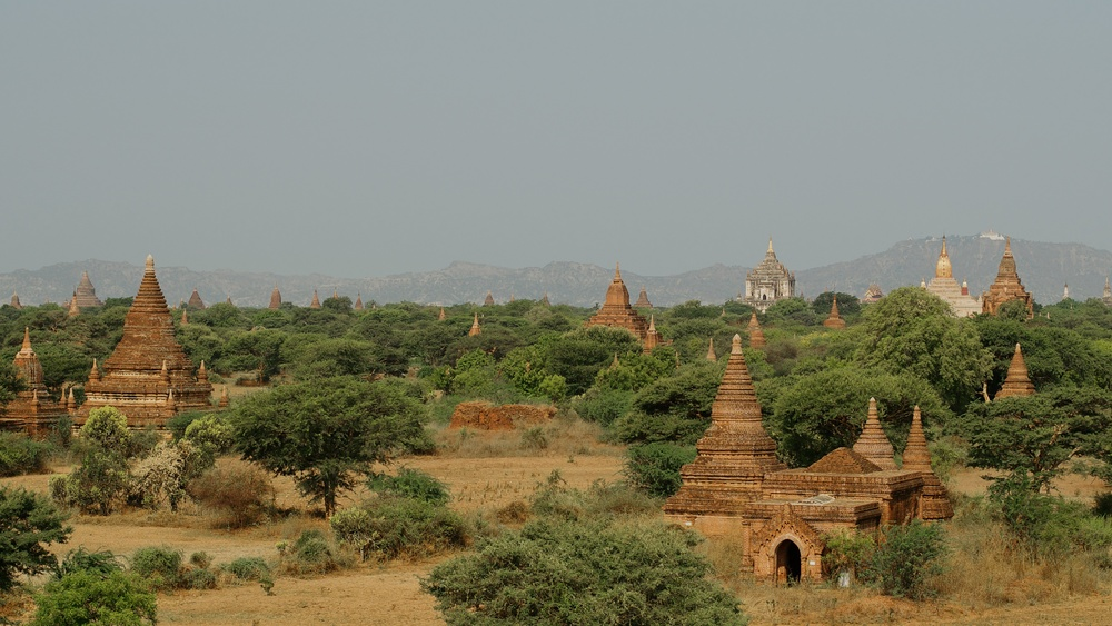 View From Bulethi Temple