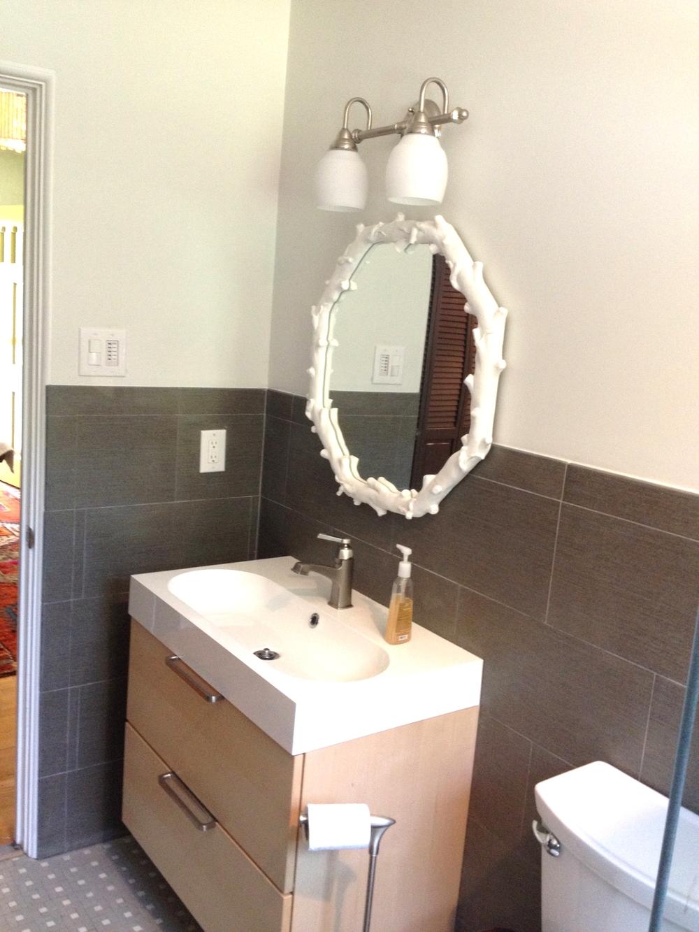 Modern Hall Bathroom