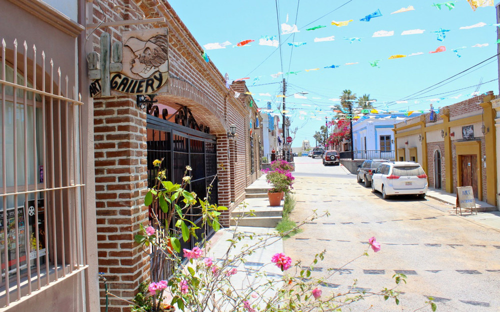 Galleries and artisan shops abound in Todos Santos