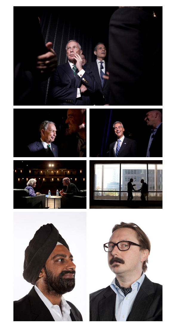 Here are a few of my favorite images from last years Chicago Ideas Week.
