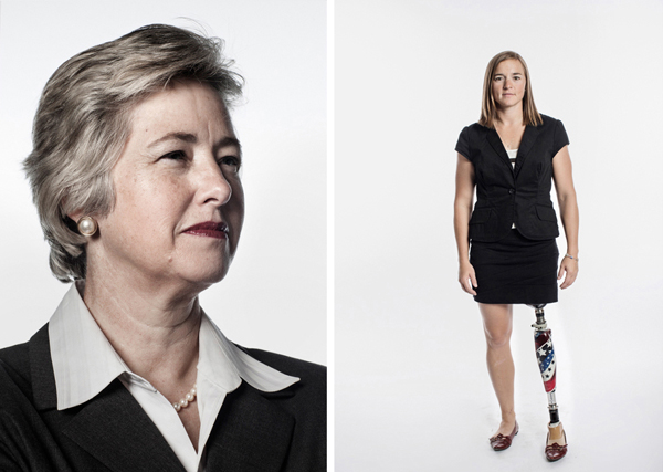 Mayor Annise Parker, Mayor, City of Houston, and Melissa Stockwell, First Lieutenant (Retired) & Two-Time Paratriathlon World Champion