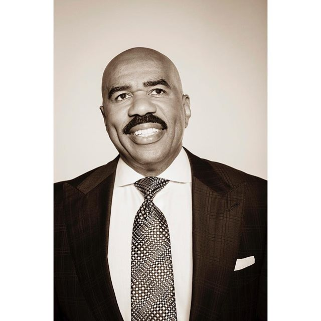 Steve Harvey for Variety Magazine.
