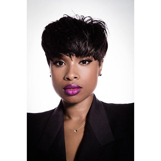 Jennifer Hudson for Variety Magazine at her home.