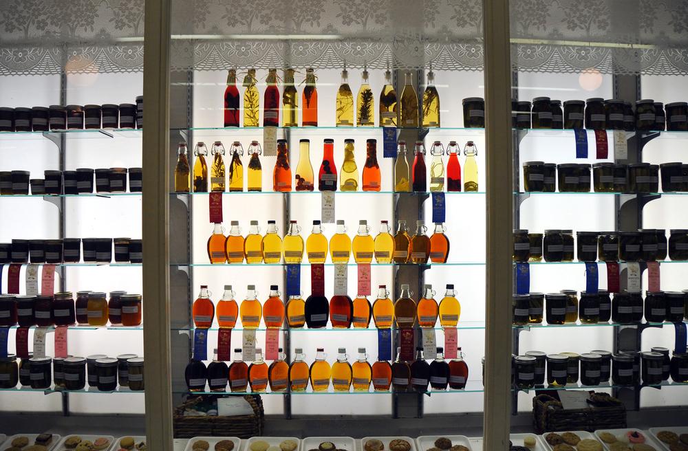 Bottles at the Minnesota State Fair.