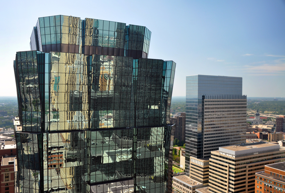 Metro Reflections. View from the Foshay Tower.
