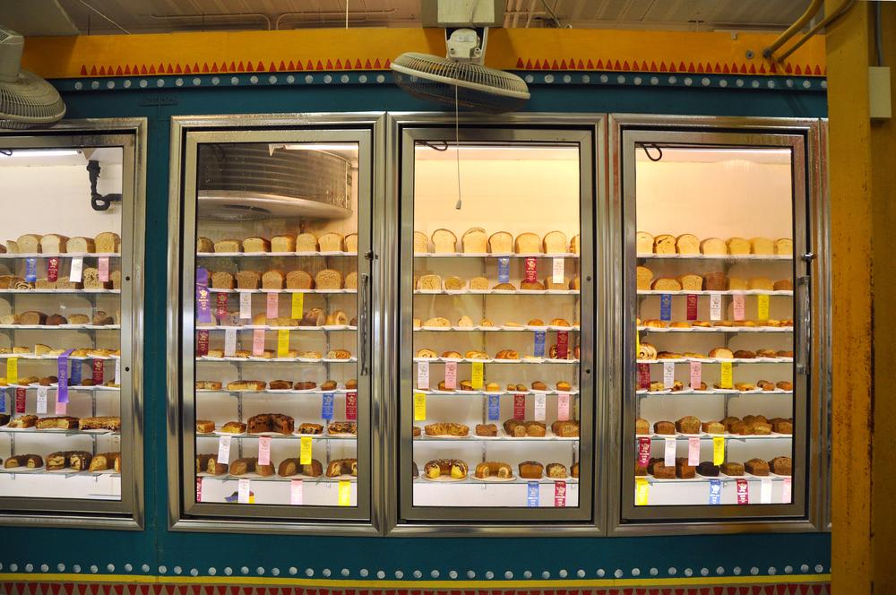 A Refrigerator Full of Cake. @Minnesota State Fair.
