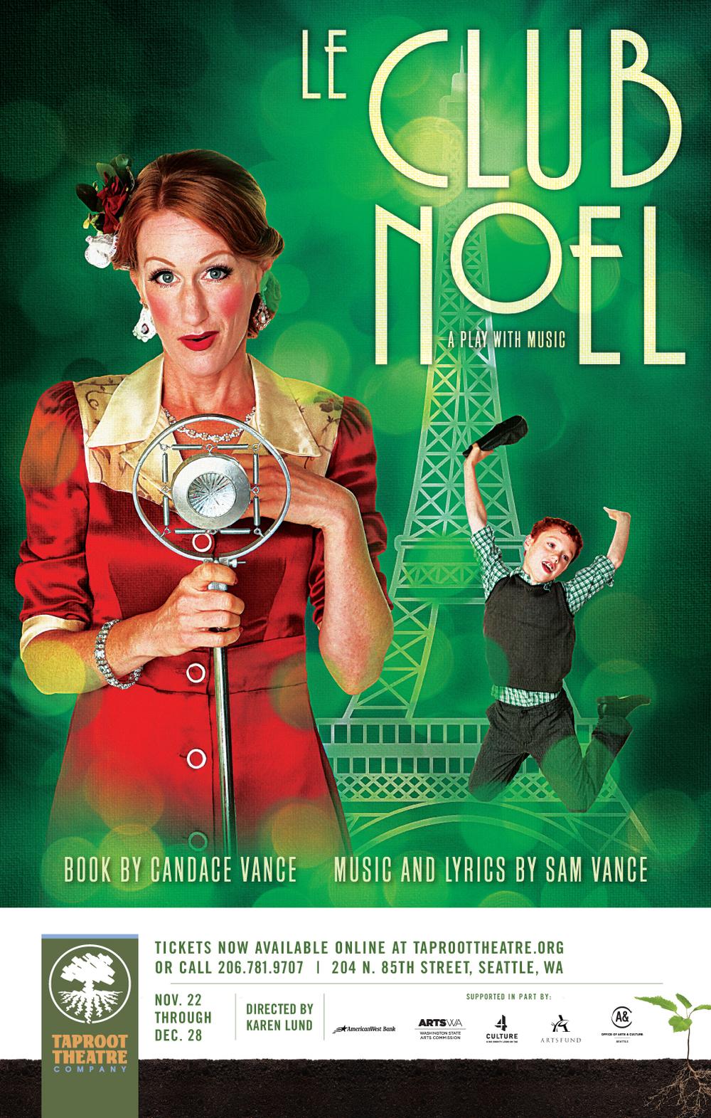Le Club Noel poster