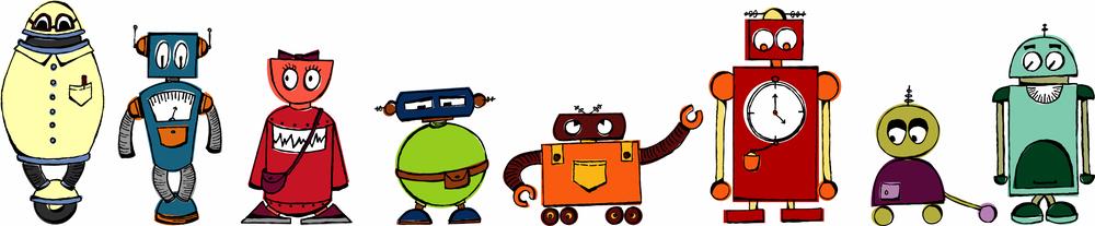 Robot-Lineup