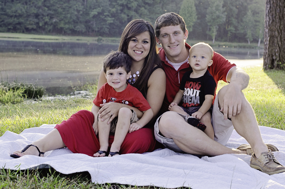 The beautiful Stallings family