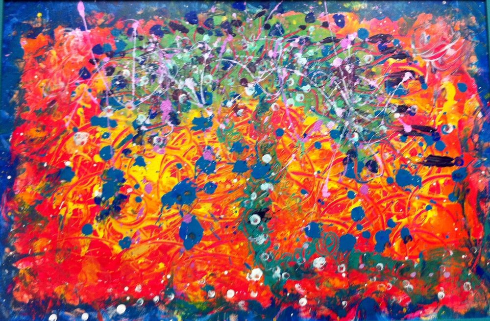 "Join Angela for ""Painting from the Inside Out"" , a modality called ""Process Painting"" that is a beautiful tool for self-discovery, healing, and play!  The process will include: setting your personal intention, invitation to create and engage with the blank page, music ( drumming influencedby Asian, South Indian, Egyptian and other cultures) to support activating your flow, and guided direction to release blocks in all of your 7 chakra energy centers while sharing each chakra color and the characteristics of each life-force energy centers. Process painting is about the experience and less about the finished product. However, I have found that taking time to sit with your finished piece may allow for additional release and healing so we will do this also.   This workshop is for anyone who wishes to:Dive deeply into self-awareness in a creative way. Express what can't be put into words. Develop greater self-acceptance… access emotions and thoughts we may have pushed down and kept hidden throughout our lives. Learn a new way to meditate through a deeper sense of inner focus. Awaken creative thinking and spontaneity. Play with your inner child  Angela's approach as a facilitator is to set up the open, safe, freeing conditions for you to allow your inner creative spark that lives within everyone to emerge.     Angela's story:  Angela's passion for Process Painting came many years ago (before I could name it) when I got my first box of finger paints and dove into a freely creative, expressive state…and felt so good after my painting play! She was too young to know that it was this exact same state for creative expression that would emerge and trigger the deepest self understanding and acceptance and healing of my adult life. It is not an over-statement to say that taking her first Process Painting Class set her on path that has opened her up to self discovery and healing. In this way it has been life changing where She uses paint to access her Divine Creator Center. Since that day, She continued to take that journey inward by creating a small studio in her home. Angela's experience of the healing powers of art have led her to working privately with both children and adults.  She soon began to take art classes at Ramapo College and as a result sherecently completed an ""Art & Interaction"" course that moved her out to using art with infusion patients.  Additionally, Angela is a Certified Usui Reiki II Practitioner and studied Christian Zen Meditation with The Zen Garland Community and became a Christian Zen Practitioner in 2011.   Cost: $55.00 plus $10.00 for materials Total: $65.00 for pre-registration before 9/27 and $85 for registration after 9/27"