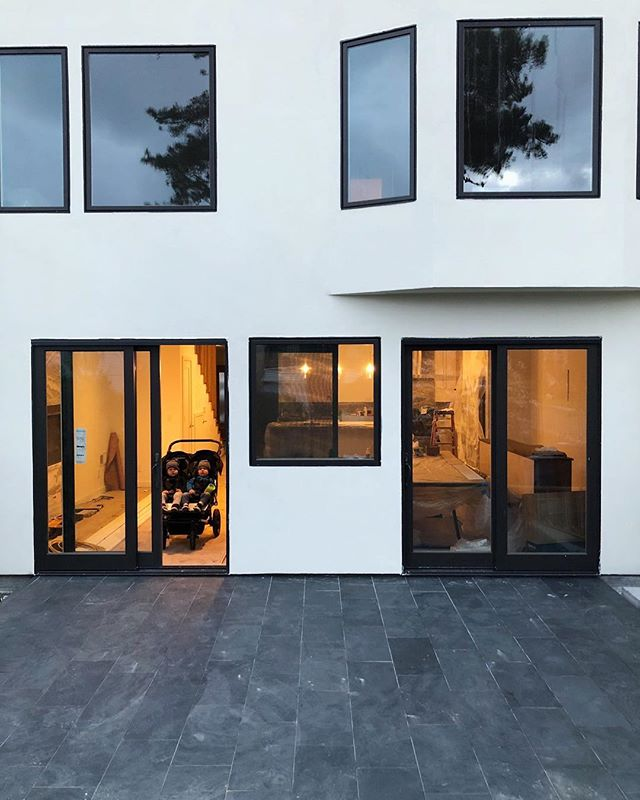 Back patio slate just went in at one of our Sunset District projects. We are in the last push before the clients move in and the finishes are looking awesome!