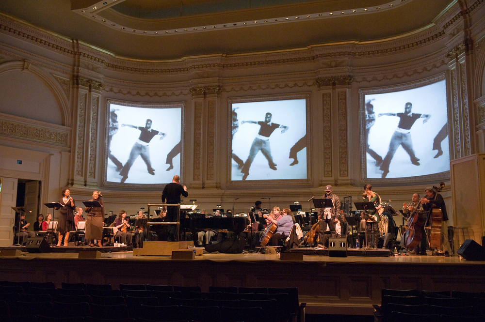 ASK YOUR MAMA rehearsal at Carnegie Hall, March 2019