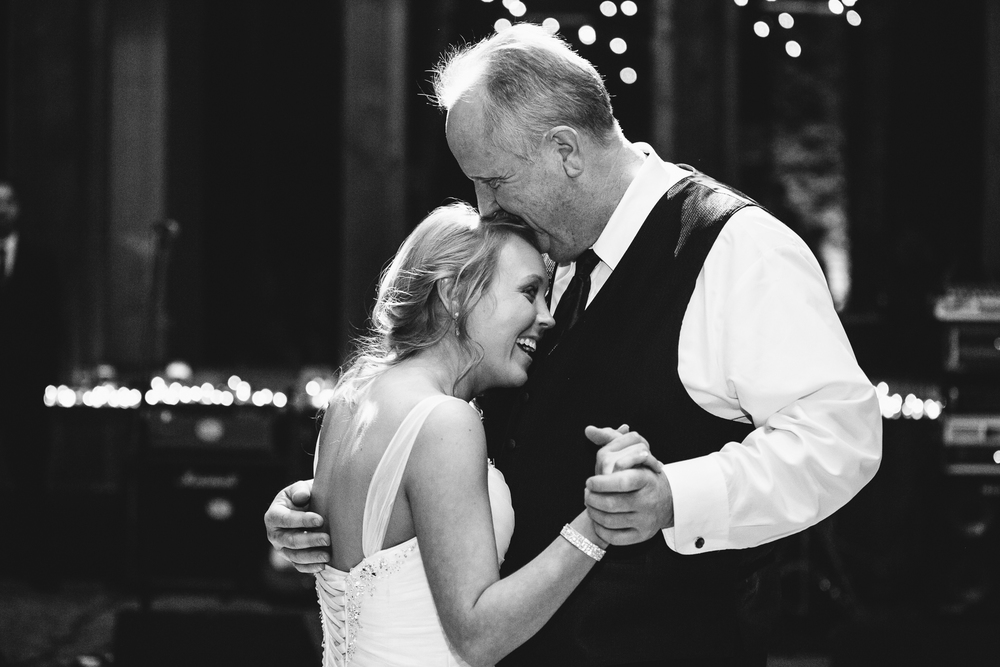 A great moment during the Father Daughter dance