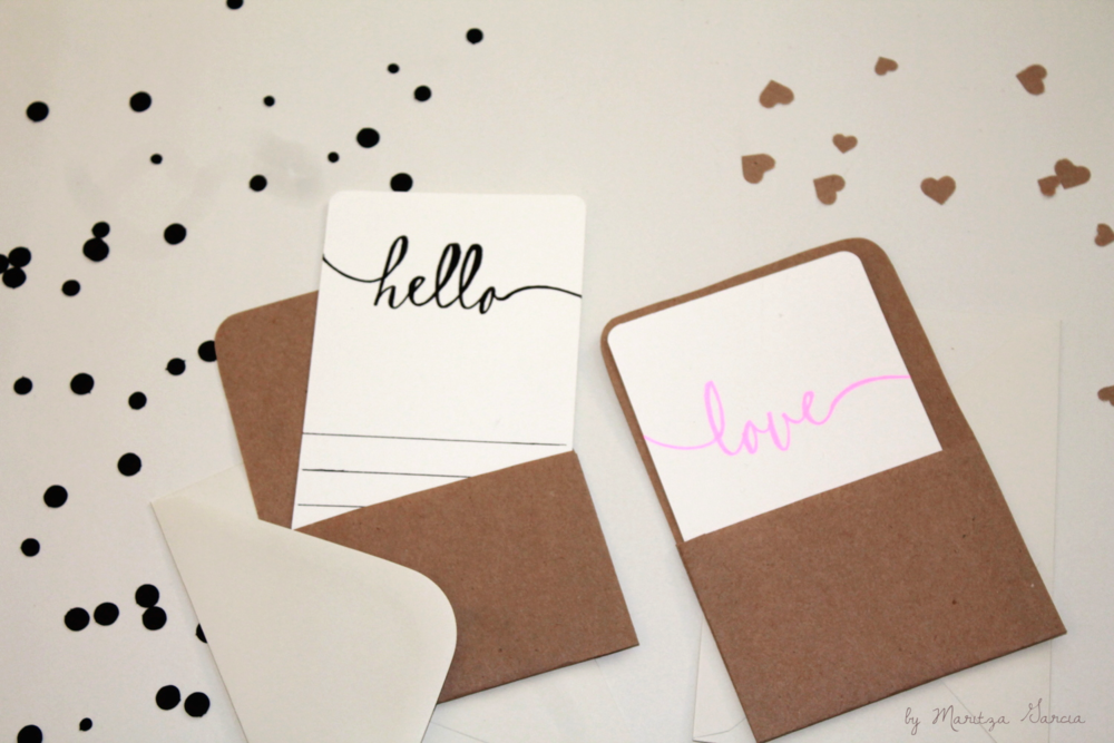 Stationery Note Cards by Maritza Garcia