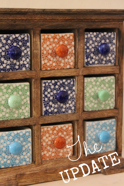 Ceramic Tile Jewelry Box