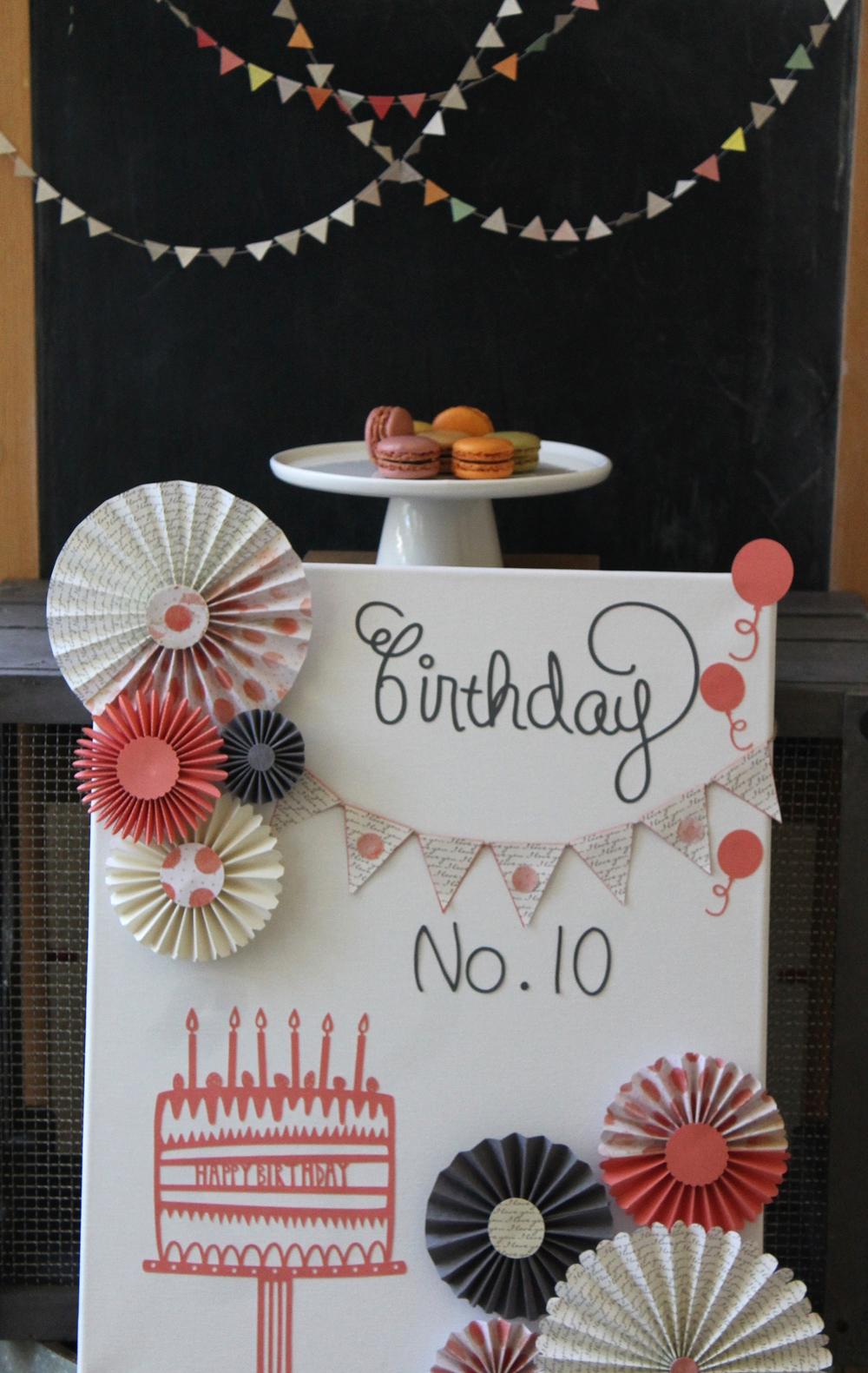 Canvas Birthday Board | by Maritza Garcia