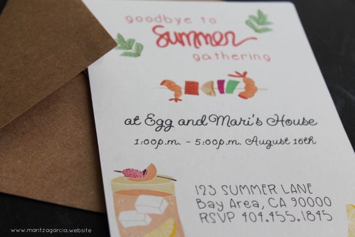 DIY Silhouette CAMEO Invitation | Maritza Garcia