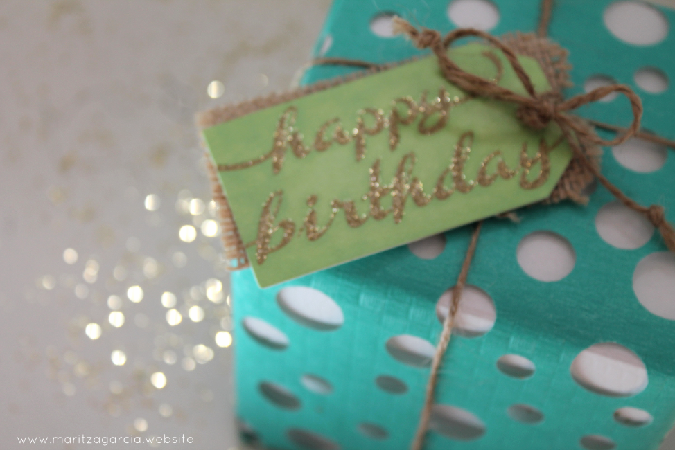 Swiss Cheese Happy Gift Wrap | Maritza Garcia