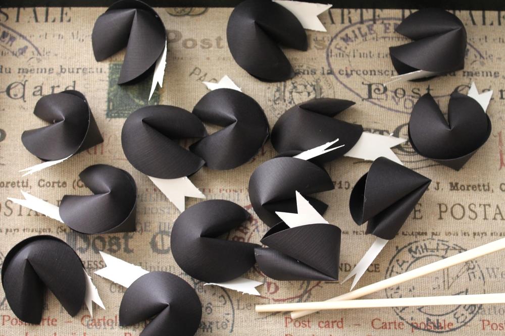 Misfortune Paper Cookies by Maritza Garcia.