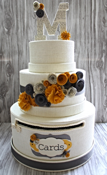 love letter wedding cardbox | maritza garcia
