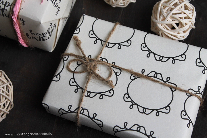 DIY Gift Wrap Sheets | www.maritzagarcia.website