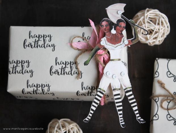 DIY Gift Wrapping Sheets | www.maritzagarcia