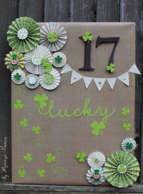 Lucky Charm Canvas | www.maritzagarcia.website