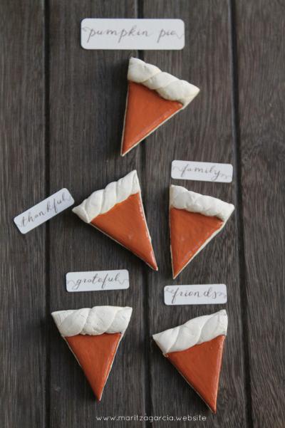 Mini Pumpkin Pies by Maritza Garcia.