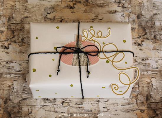 Autumn Gift wrapping | Maritza Garcia