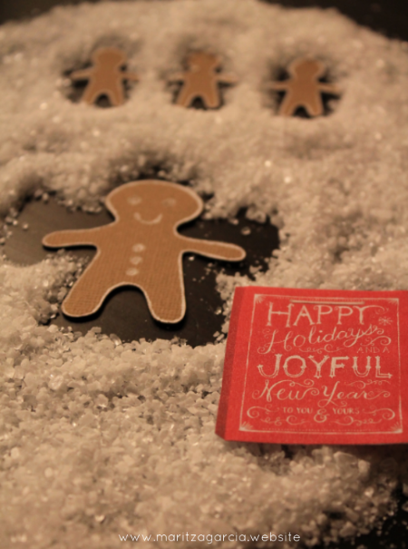 Gingerbread Snow Angels | maritza garcia