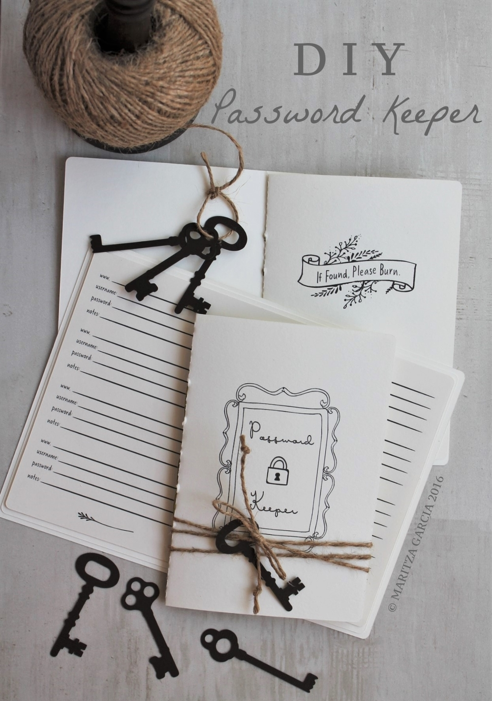 DIY Password Keeper