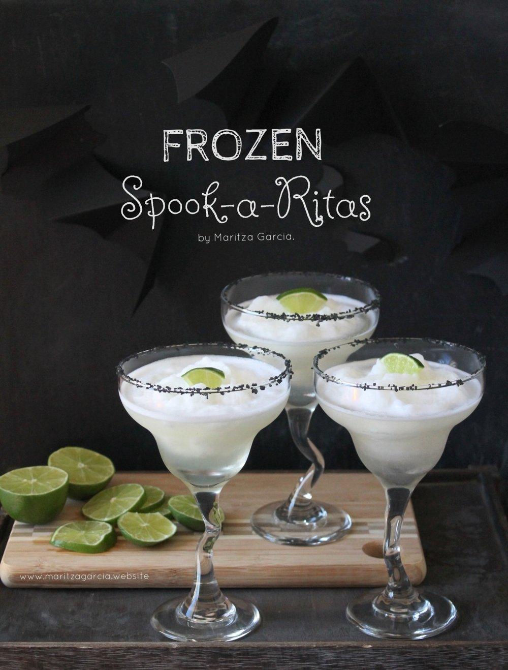 Frozen Spook-a-Ritas by Maritza Garcia.