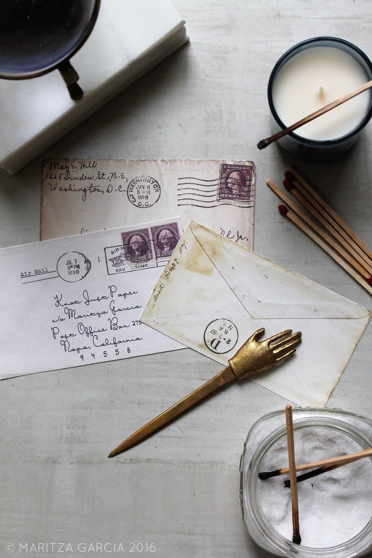 Snail Mail | www.maritzagarcia.wesite