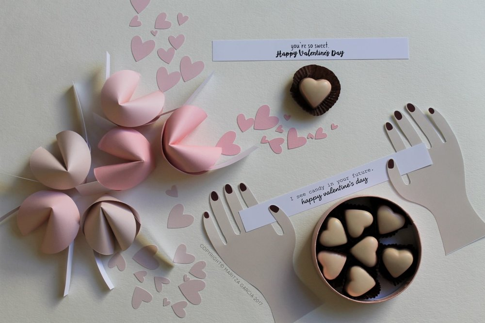 DIY: Valentine's Day Fortune Cookies