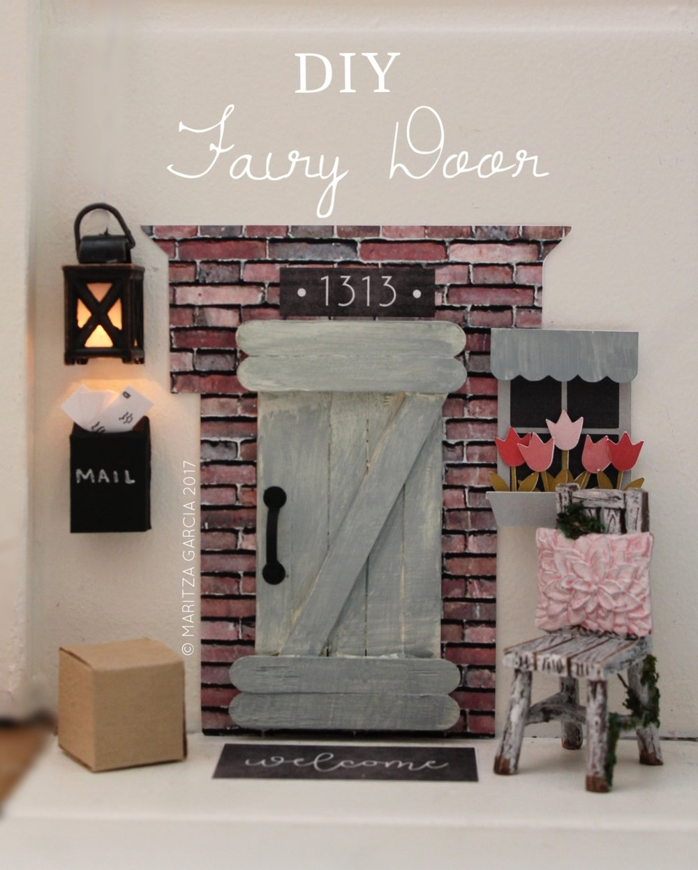 DIY Fairy Door | www.maritzagarcia.website