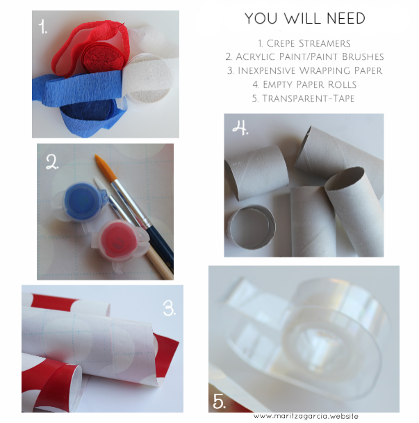4th of July DIY Confetti Poppers | www.maritzagarcia.website