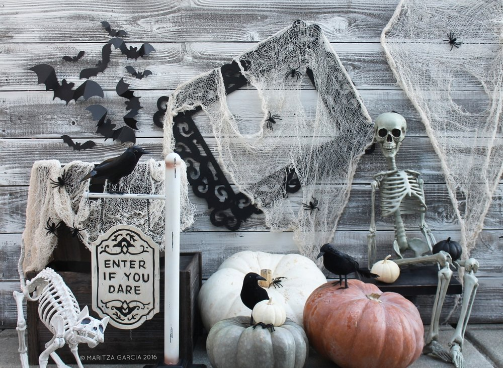 Halloween Display by Maritza Garcia | www.maritzagarcia.website