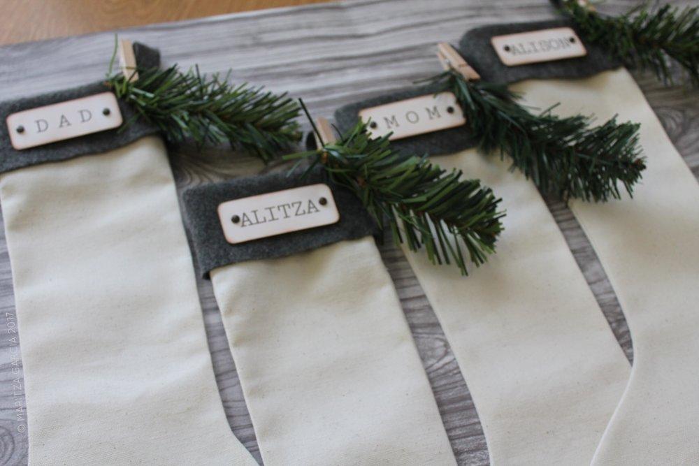 (Handmade Stockings) Mini Winter Wonderland | www.maritzagarcia.website