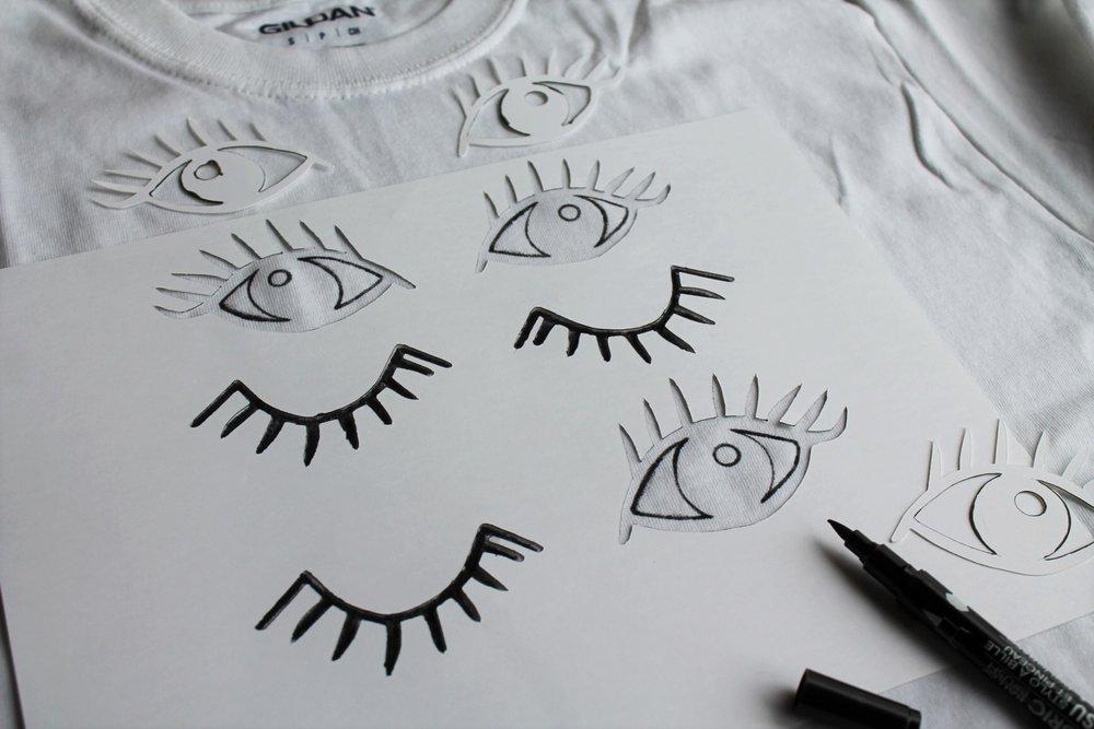 Eye-motions DIY T-Shirt | www.maritzagarcia.website