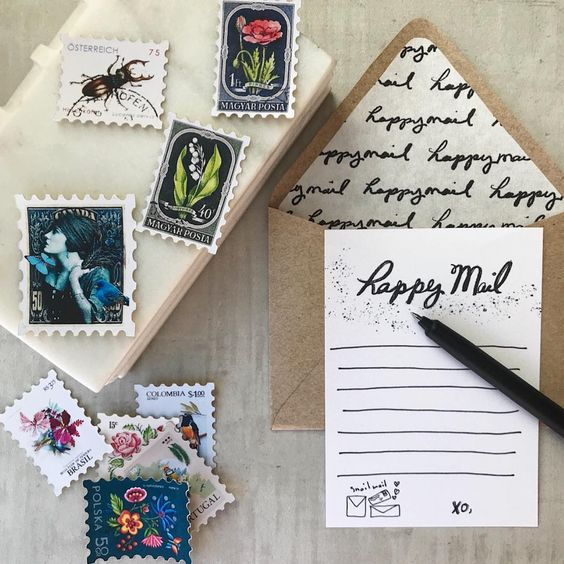 Happy Mail by Maritza Garcia | www.maritzagarcia.website
