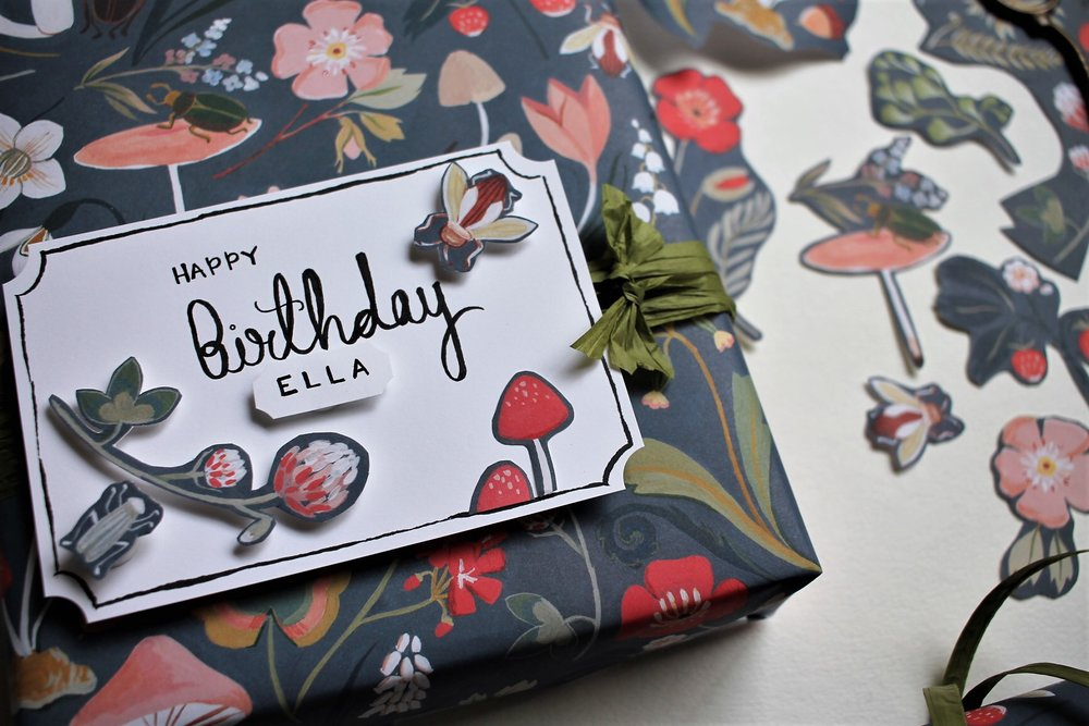 How to get more out of your gift wrap paper DIY | www.maritzagarcia.website