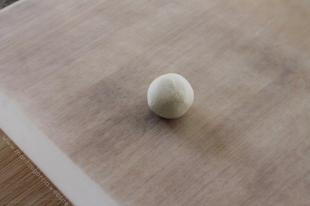 Air-Dry Clay Wishbone DIY