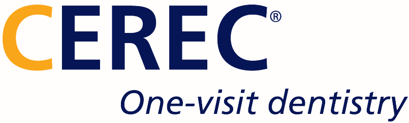 Cerec one-visit dentistry logo.