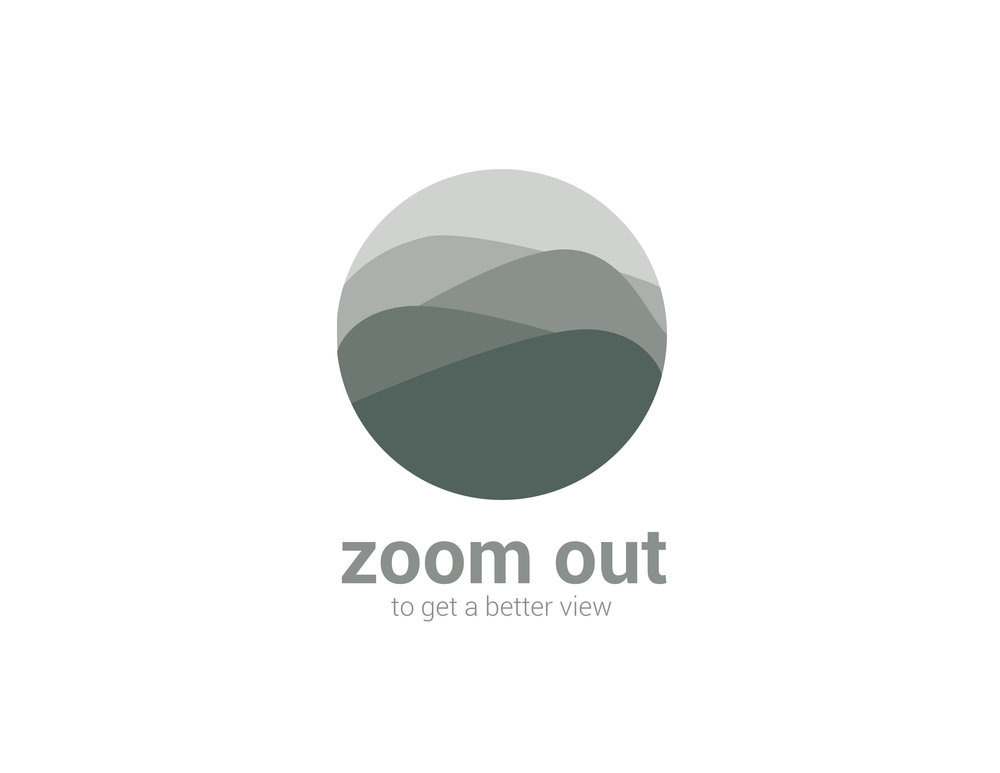 Zoom Out Logo Design