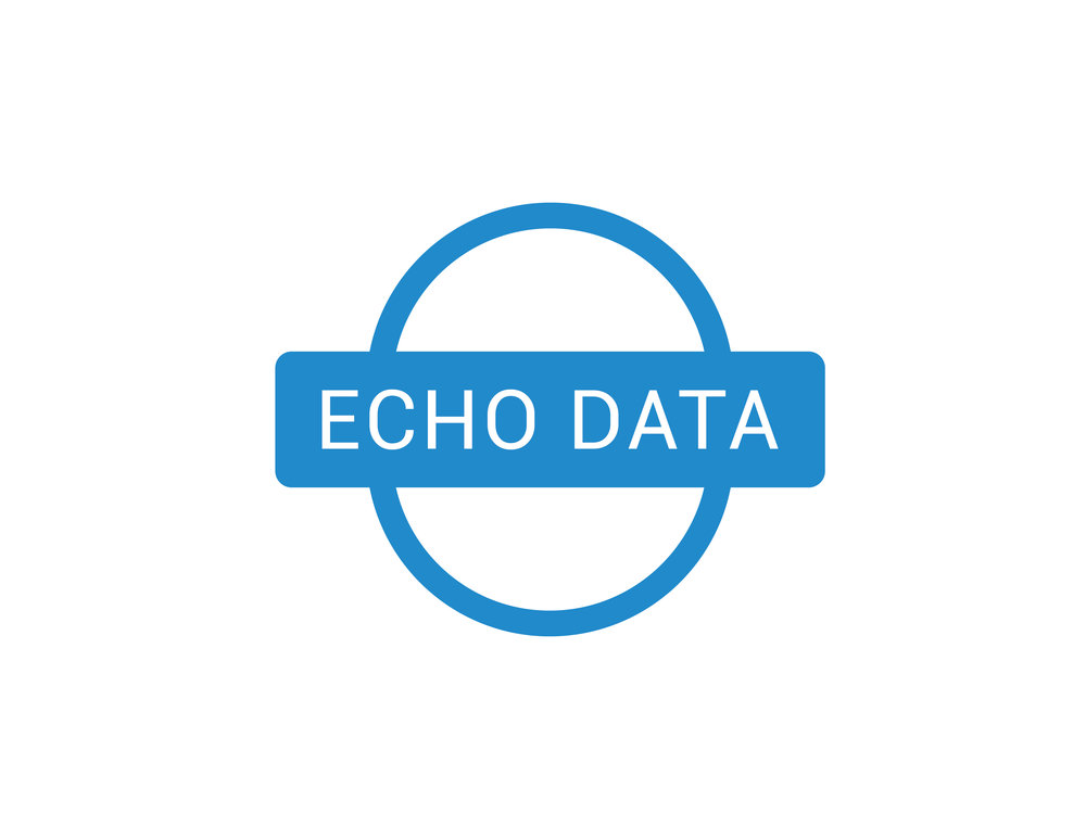Echo Data Logo Design
