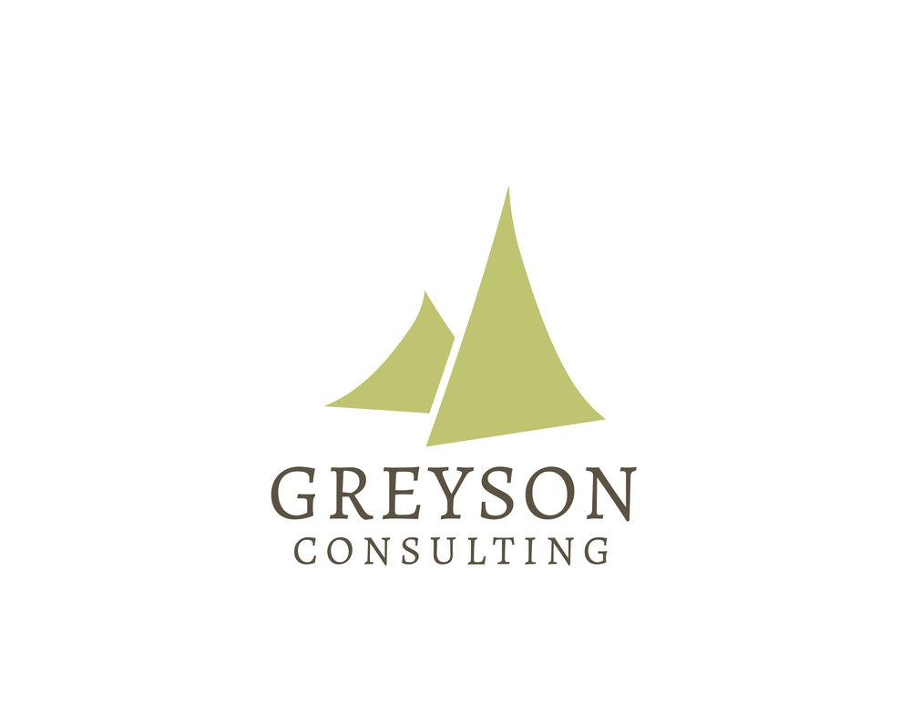 Greyson Consulting  Logo Design