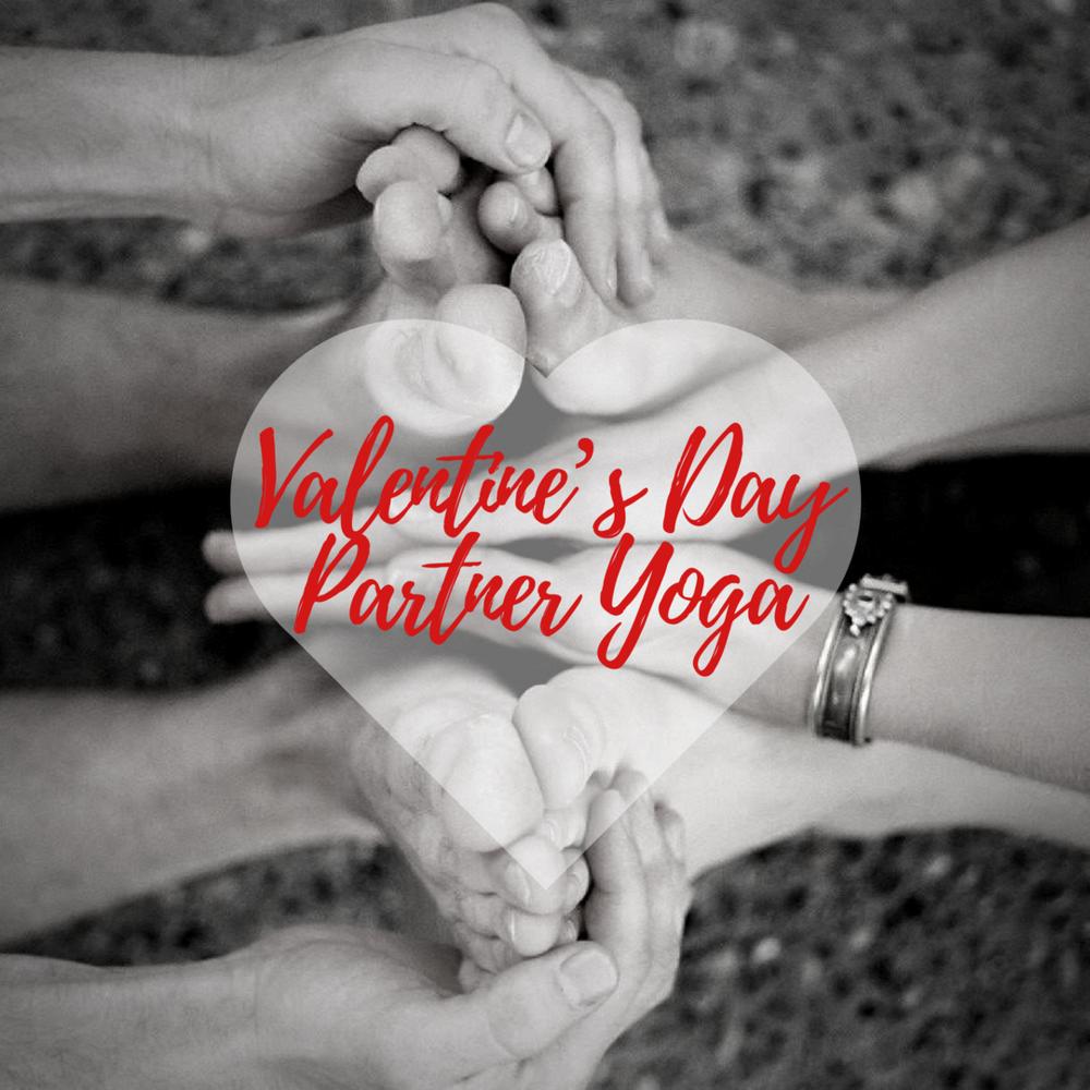 Valentine S Day Partner Yoga Yoga Comfort Zone