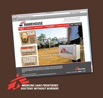 Médecins Sans Frontières / Doctors Without Borders – MSF Warehouse