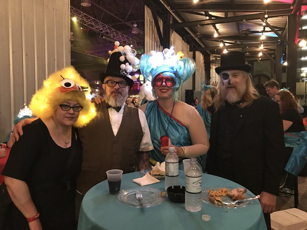 Tori, Ian, Heather and Bill at the after party